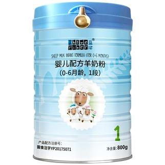 BlueRiver藍河綿羊奶 嬰兒配方羊奶粉1段800g 0-6個月新西蘭進口