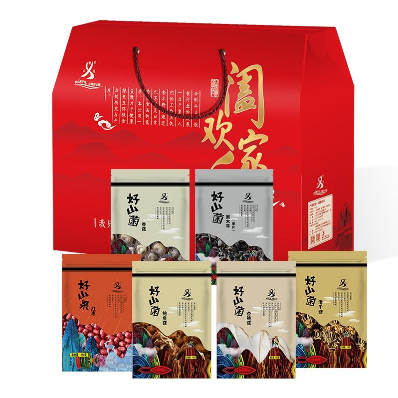 山義雨 闔家歡樂系列 菇香回味精品禮包 968克