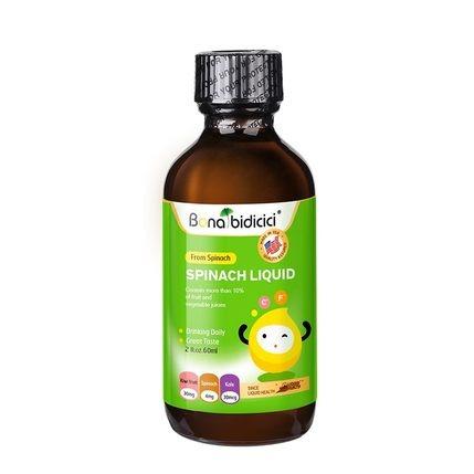 原裝進口貝蒂喜菠菜飲料液專利原料嬰幼兒童膳食營養補鐵造血液體
