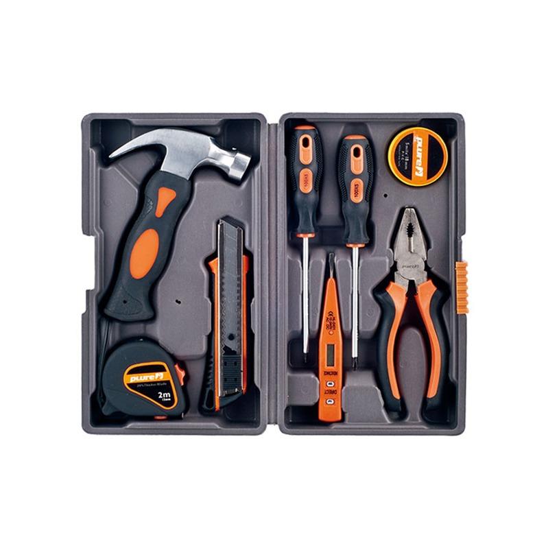 民生惠 · 勃蘭匠記plure 9件家用工具組合套裝PL-001A